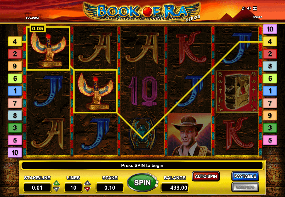 best online slot game - Book of Ra Slot