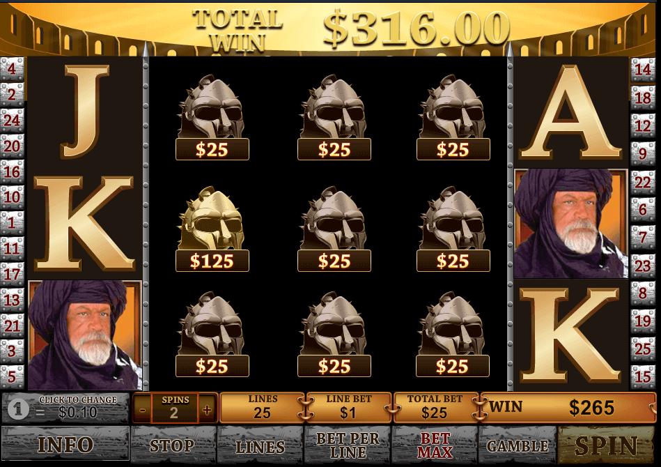 best online slot - Gladiator Slot