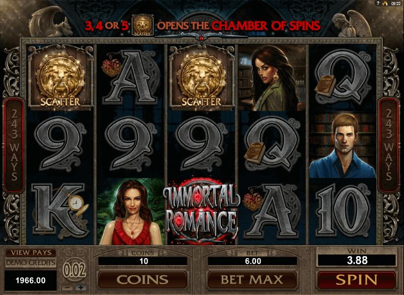 best online slot game - Immortal Romance Slot