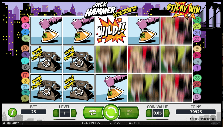 best online slot game - Jack Hammer Slot