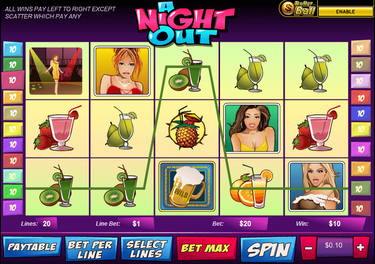 best online slot game - Night Out Slot
