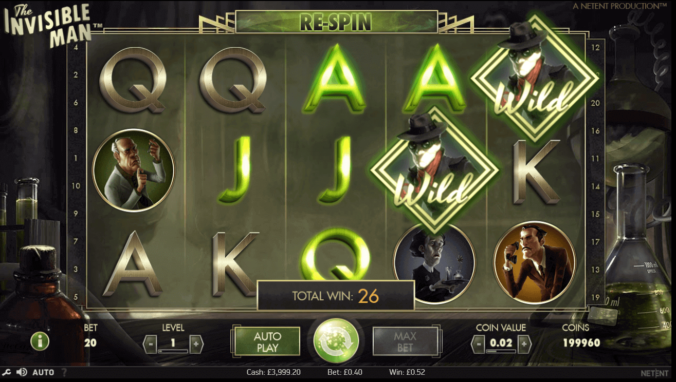 best online slot game - The Invisible Man Slot