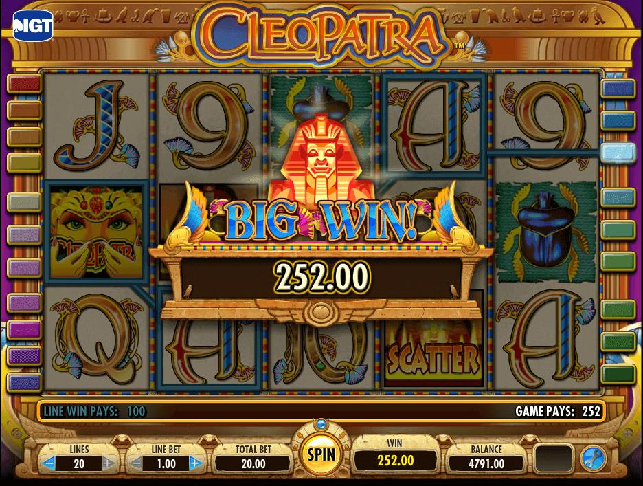 best online slot game - Cleopatra Slot