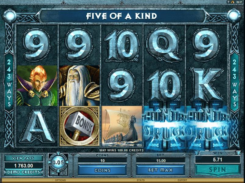 best online slot game- Thunderstruck 2 Slot