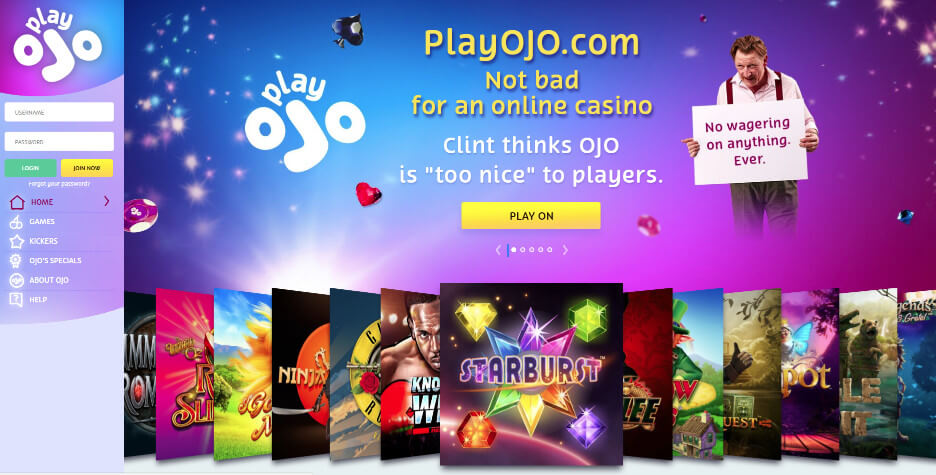 Play OJO Casino Review