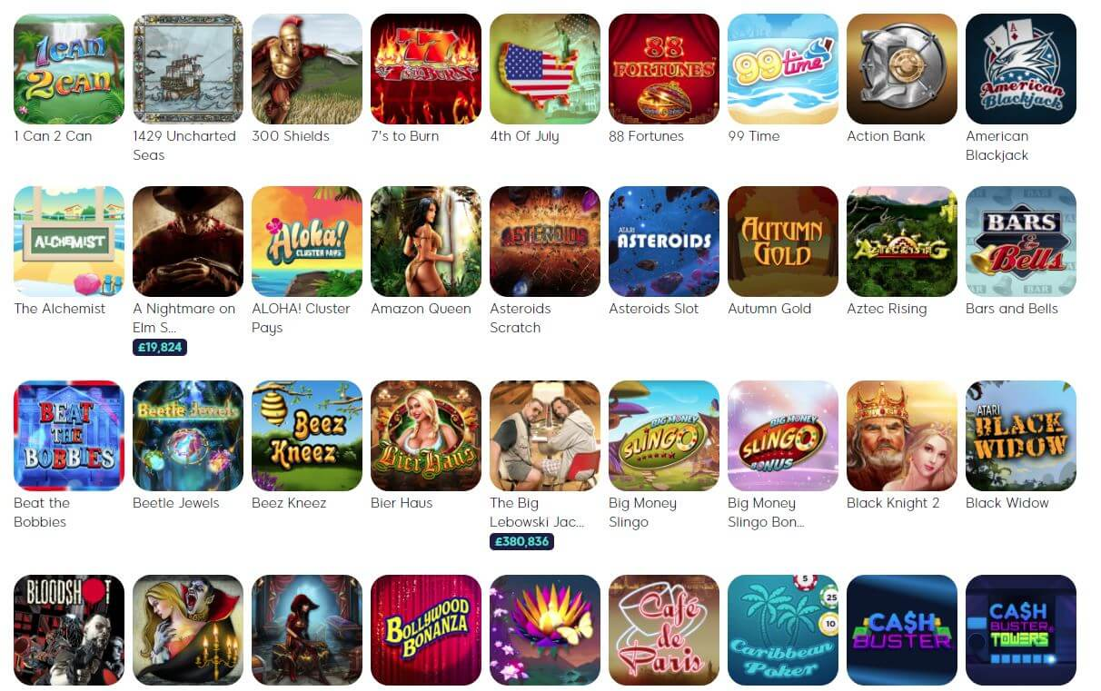 Wink Slots Review Games