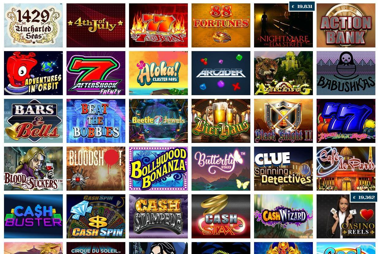 Winzino Casino Review - games