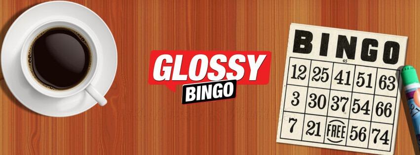 Glossy Bingo Review Banner