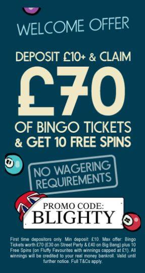 blighty bingo review banner