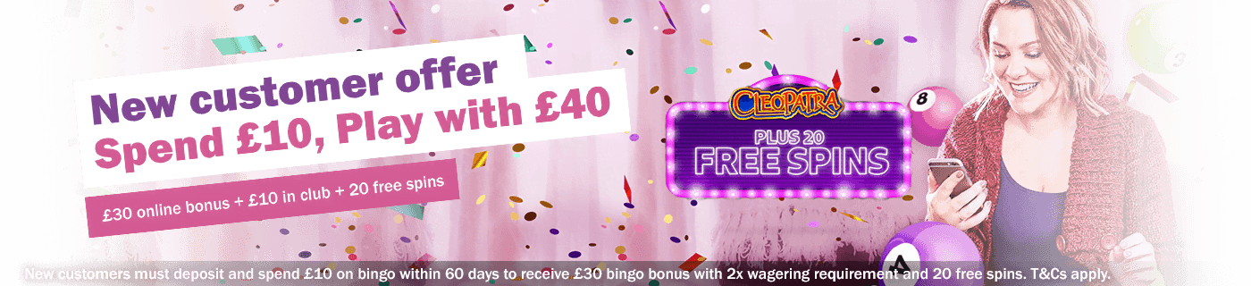 Mecca Bingo welcome offer