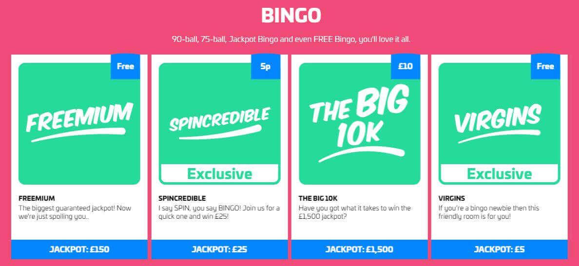 dabber bingo games