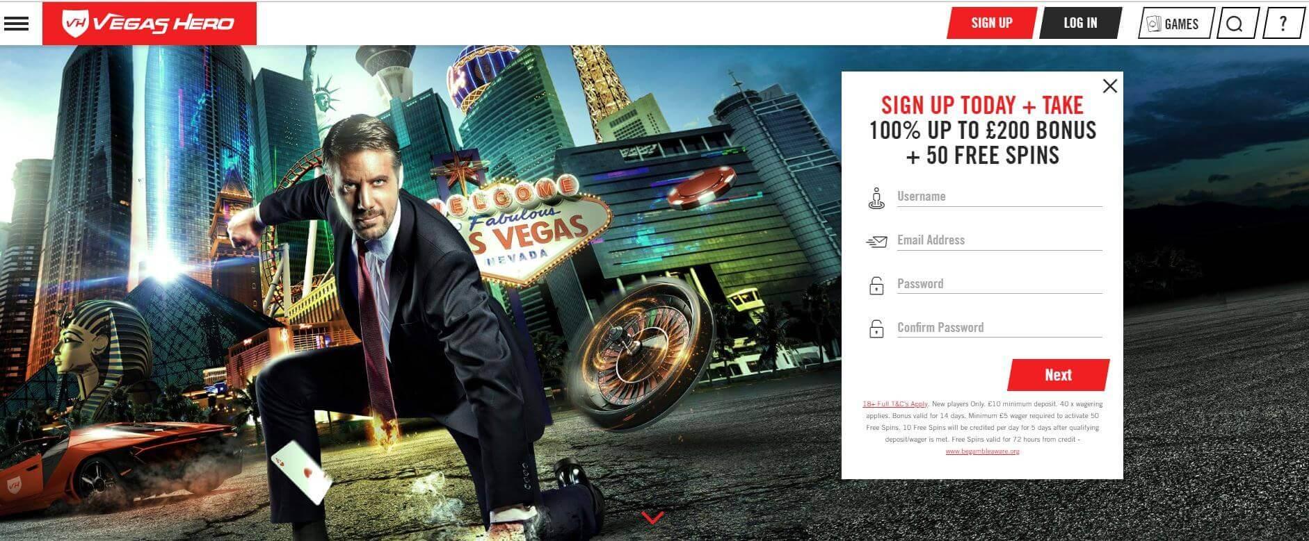 Vegas Hero Review