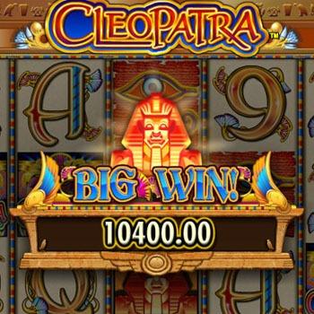 cleopatra slots bonus