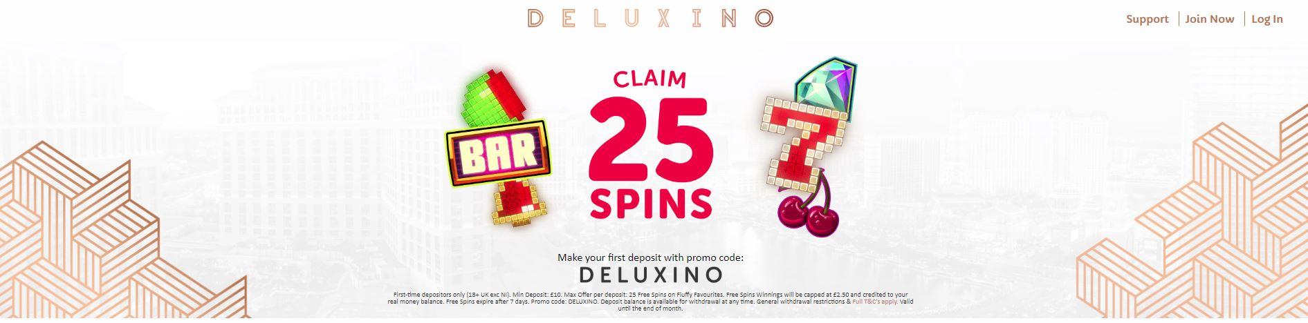 Deluxino homepage