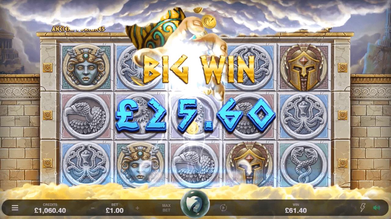 Ancient Fortunes Zeus win