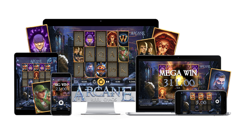 Arcane Reel Chaos slot review
