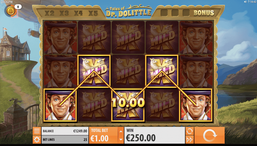 Tales of Dr Dolittle Slot wilds