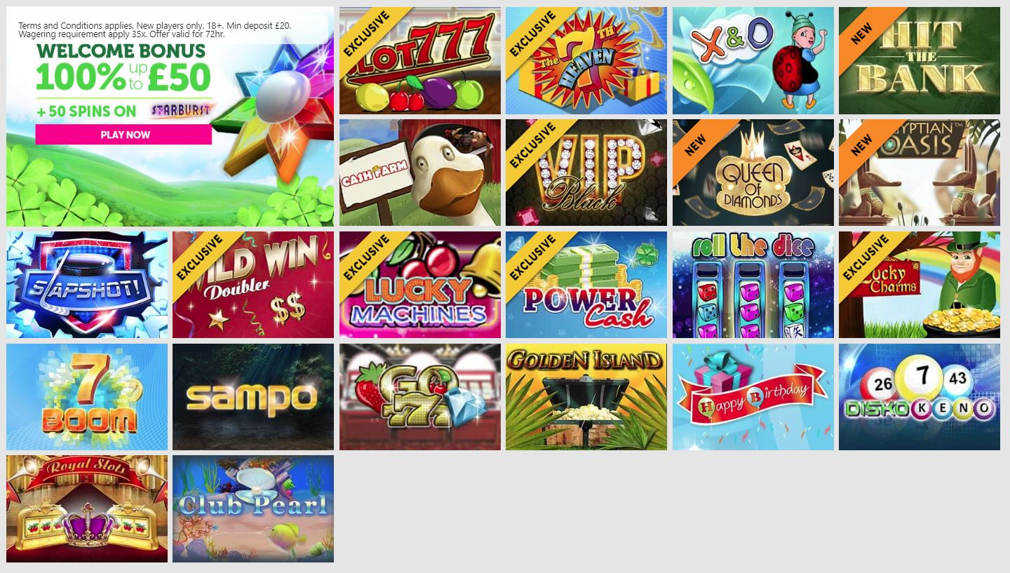 Casino Luck casino games