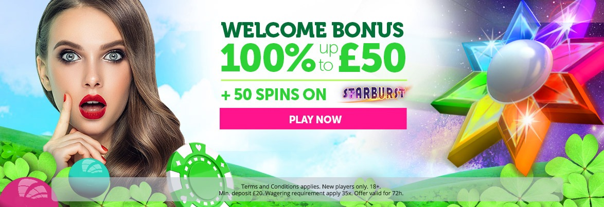 CasinoLuck welcome offer