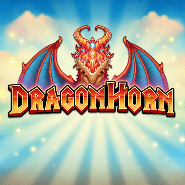 dragon horn slot logo
