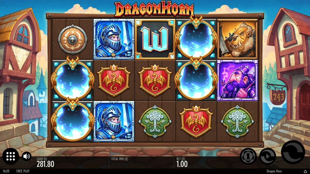 dragon Horn Slot MysteryS ymbols