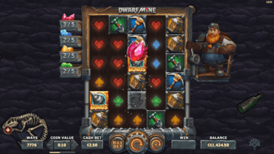dwarf mine collectible crystals feature