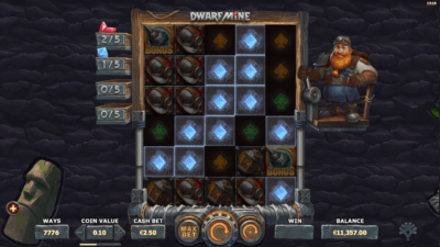 dwarf mine expanding reels feature