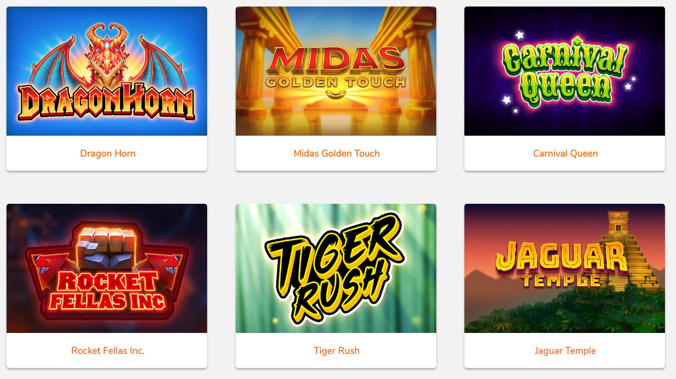 Thunderkick casino games
