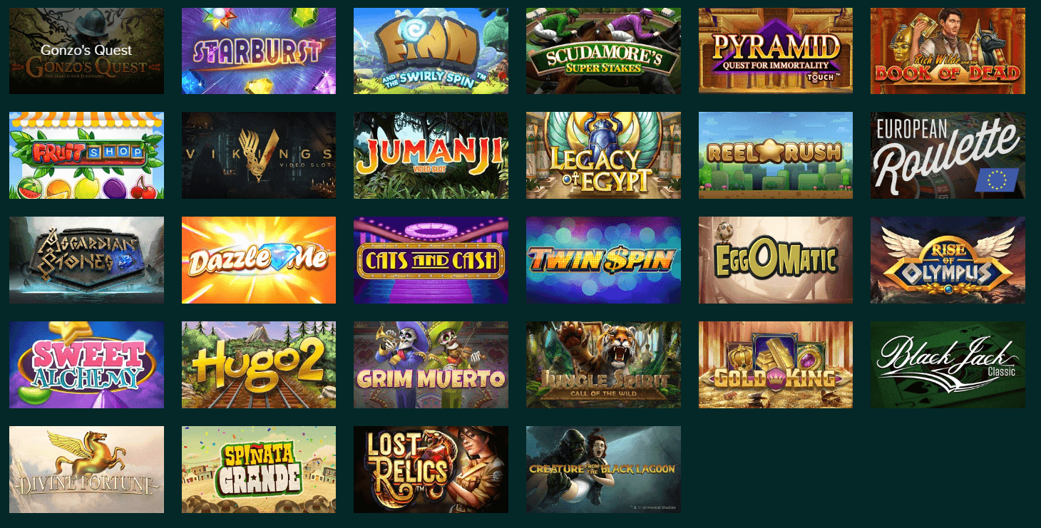Temple Slots games