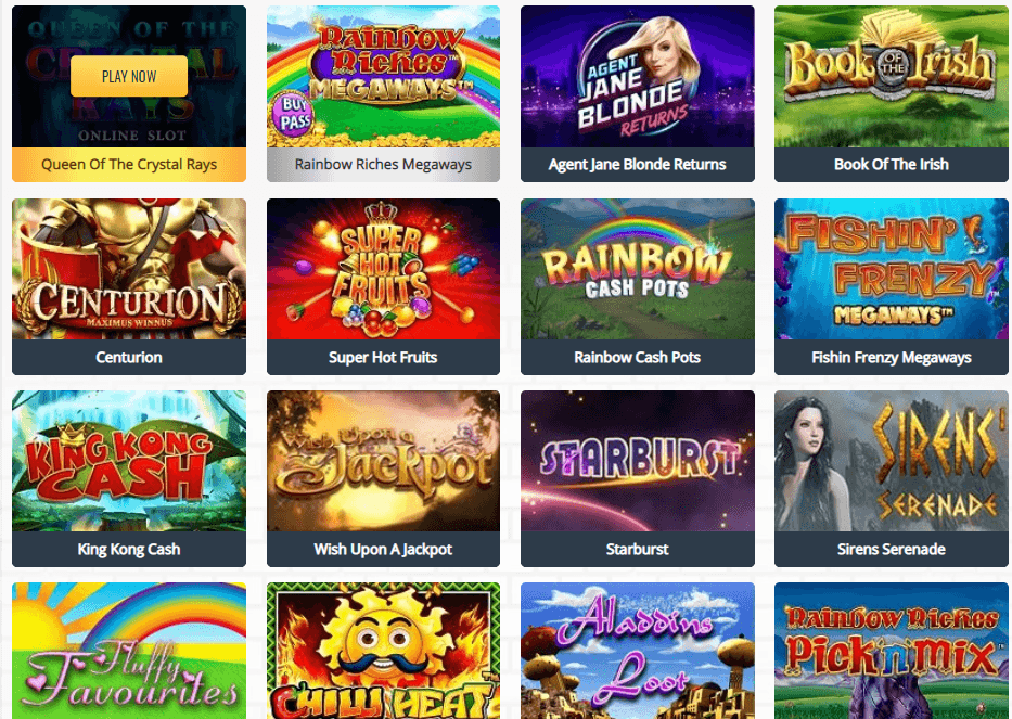 Loot Casino games