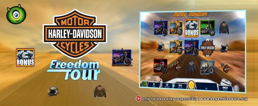 Harley-Davidson Motorcycles Freedom Tour Slot